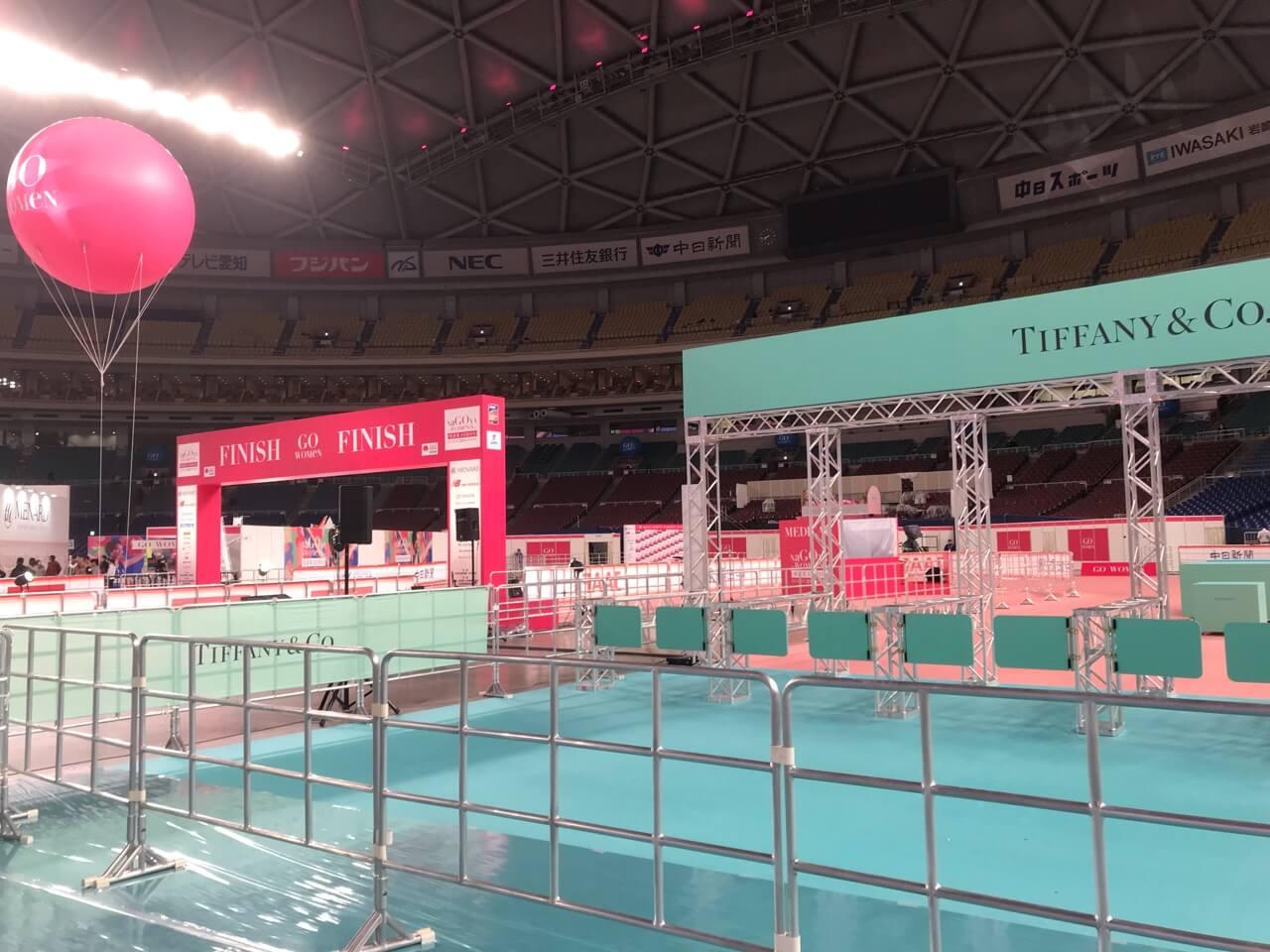 ゴール(名古屋シティマラソン2019)